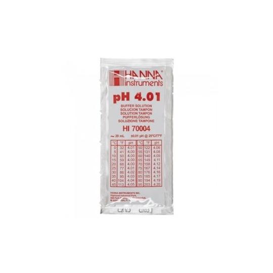 Bolsa Calibración pH 4,01