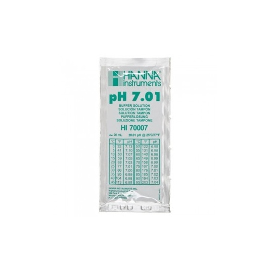 Bolsas Calibracion pH 7,01