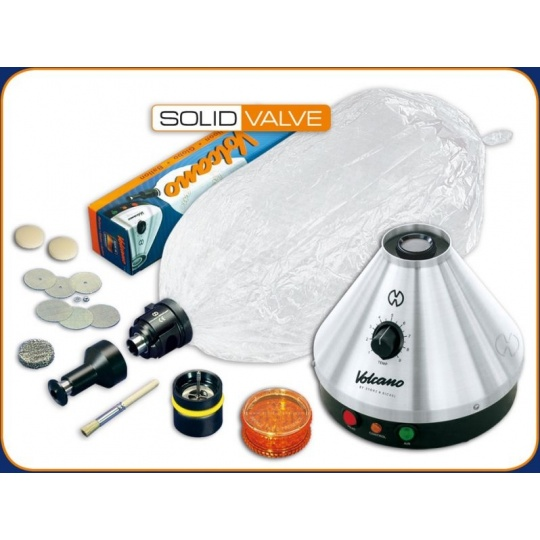Volcano-System Classic con Solid Valve set