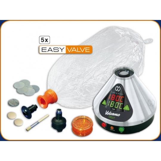 Volcano-System Digital con Easy Valve Starter Set